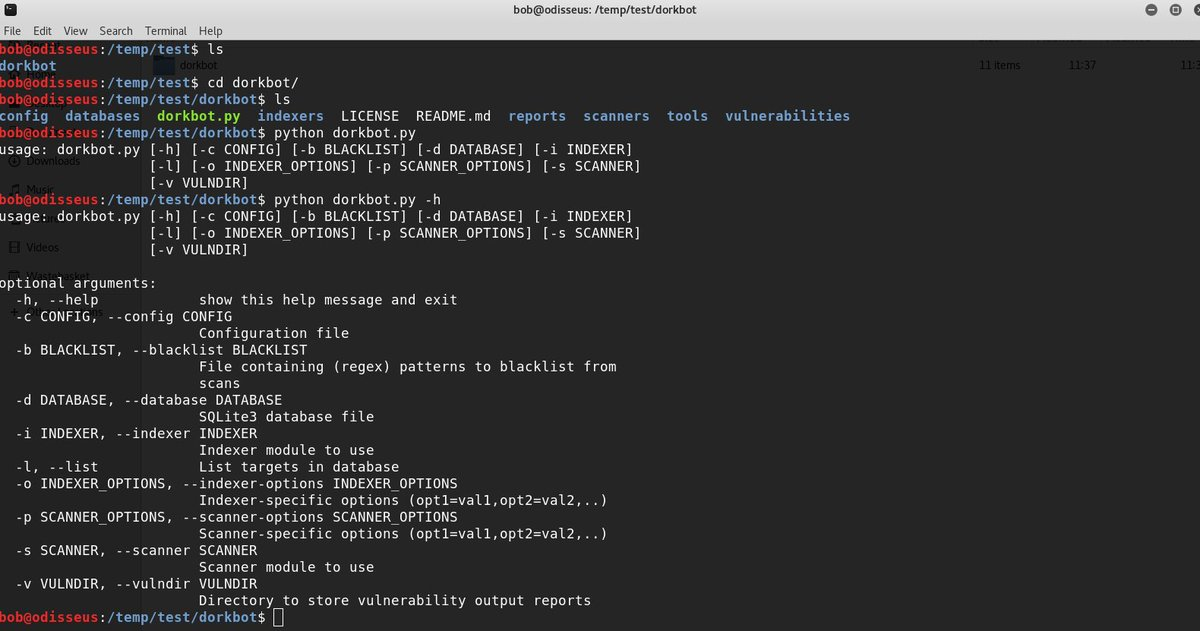 Are you looking for a Web vulnerability? Ask #Google using #DorkBot! - #PhantomJS  - #Arachni  - #Wapiti  https:// github.com/utiso/dorkbot  &nbsp;   #CyberEU17<br>http://pic.twitter.com/32Sb3zgO0k