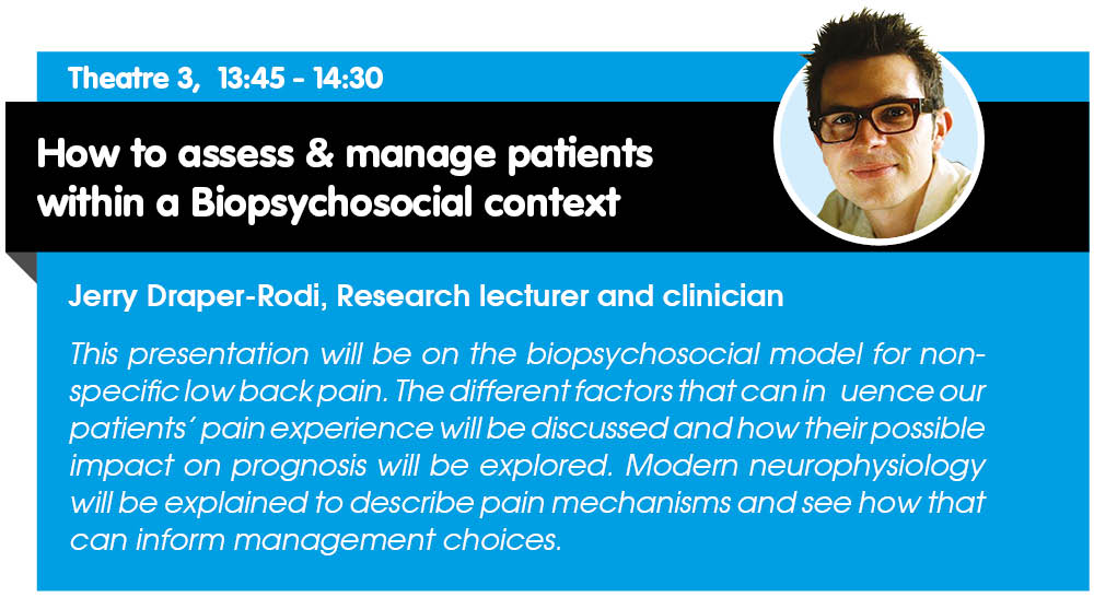 Don&#39;t miss @JerryDraperRodi in action at #therapyexpo - 22nd &amp; 23rd November, NEC Birmingham #CPD #Neuro #education <br>http://pic.twitter.com/WM4rir1qe5