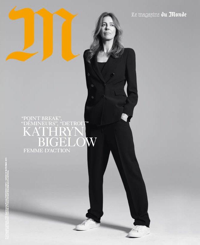 Dans M, en kiosque : Kathryn Bigelow, réalisatrice testostéronée; les détectives du dimanche de l'affaire Grégory; les Youtubeurs végans…