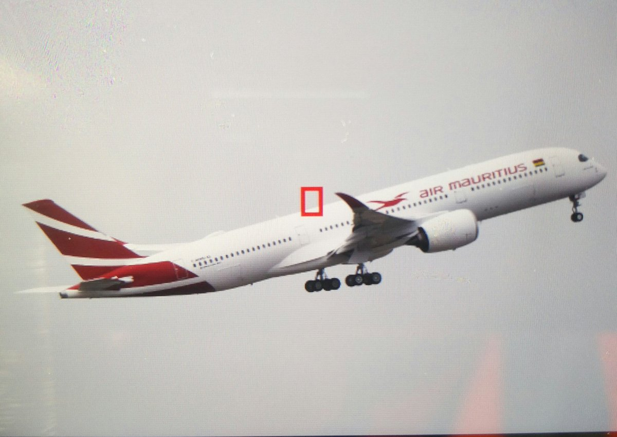 The 1st #A350 #airmauritius is in the sky!!! #avgeeks #Airbus #toulouse <br>http://pic.twitter.com/aRHkXQCzTc