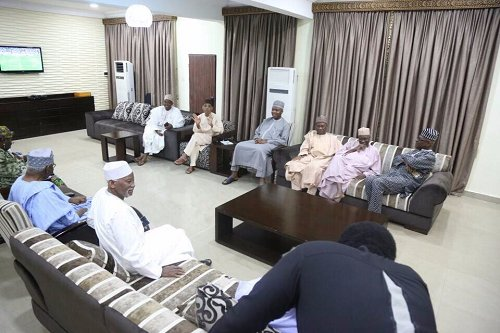The Senate President, Dr Bukola Saraki is currently locked in a meeting with Northern elders who converged at his residence in Abuja on Friday.