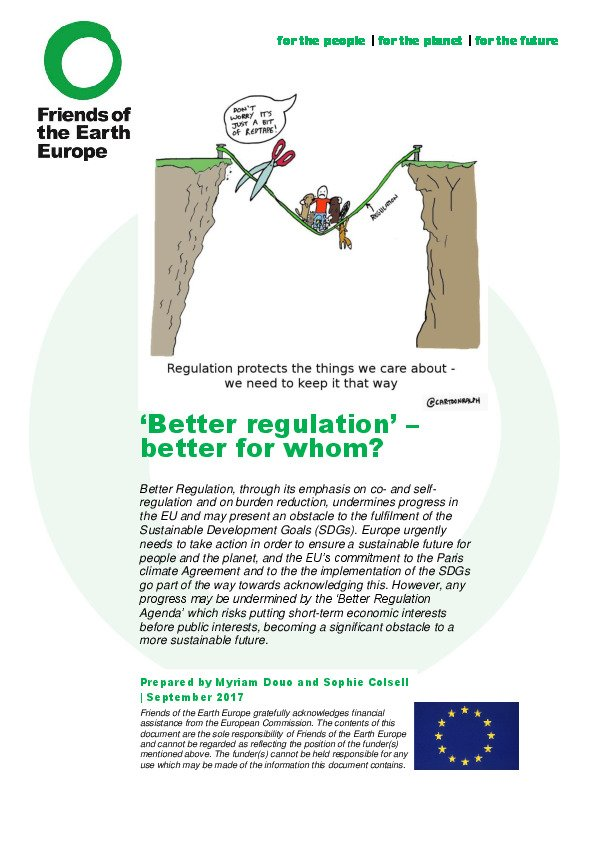 PDF Publication - Better regulation - better for whom?  https:// goo.gl/oE9yeM  &nbsp;   #institutions #publication <br>http://pic.twitter.com/aQBHUfS7CD