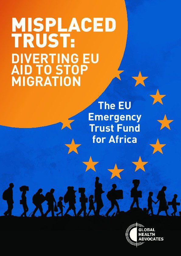 PDF Publication - Misplaced trust: diverting EU aid to s...  https:// goo.gl/1F933X  &nbsp;   #migration #publication <br>http://pic.twitter.com/4HnzbK2V7W