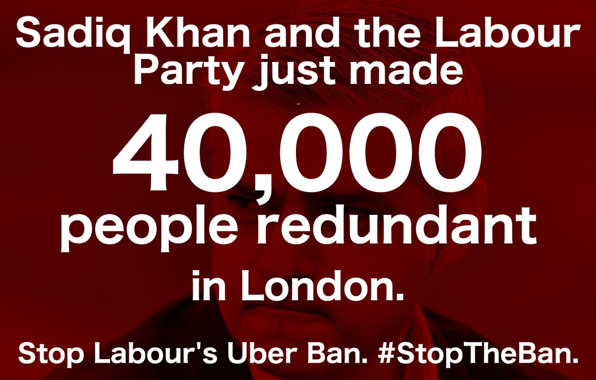Protect Jobs. Protect Safety. Protect Innovation. Protect Investment  Stop #Labour&#39;s #Uber Ban! #StopTheBan<br>http://pic.twitter.com/oxSHlBNzLA