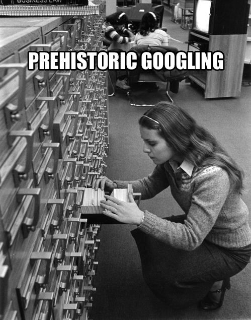 If you remember doing this, you&#39;re not a millennial :-) #Google #Indexing <br>http://pic.twitter.com/yktAyCCshd