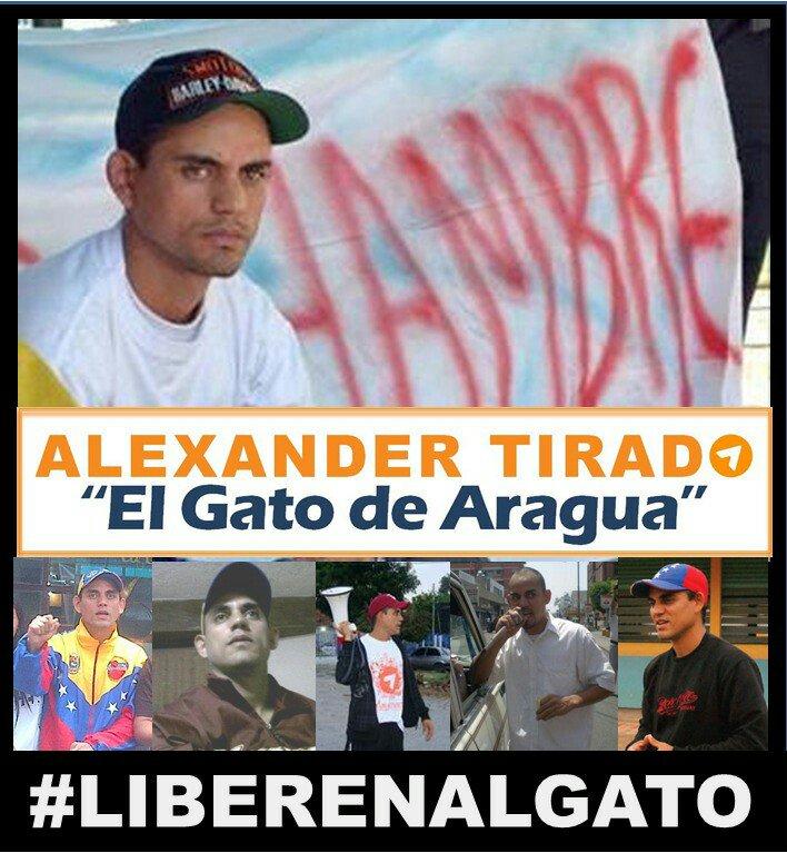 #20Oct @ElGatoDeAragua lleva 1309 días DETENIDO Y CONDENADO x protesta...