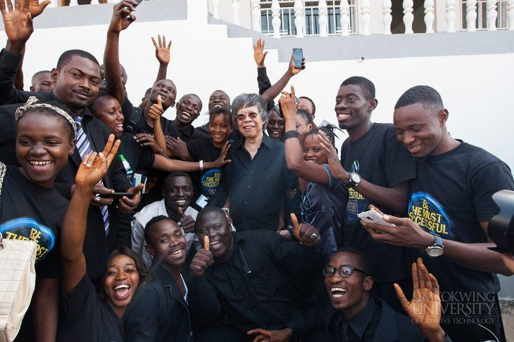 &quot;#Technology may bring about &amp; quicken the pace of change, but it is always people who set the pace &amp; shape the #change.&quot; – TS @LimKokWing<br>http://pic.twitter.com/Pln3iO0rGN