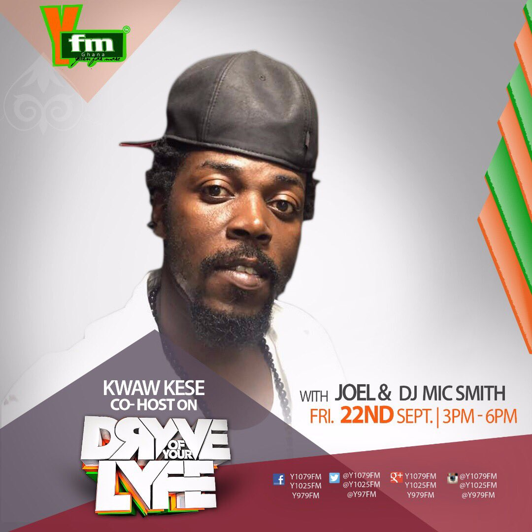 #Repost @y1079fm (@get_repost) ・・・ @kwawkese will be co-hosting the #DryveOfYourLyfe with @joelorleans x @djmicsmith at 3PM  Let&#39;s vibe<br>http://pic.twitter.com/wsImlGcsrZ