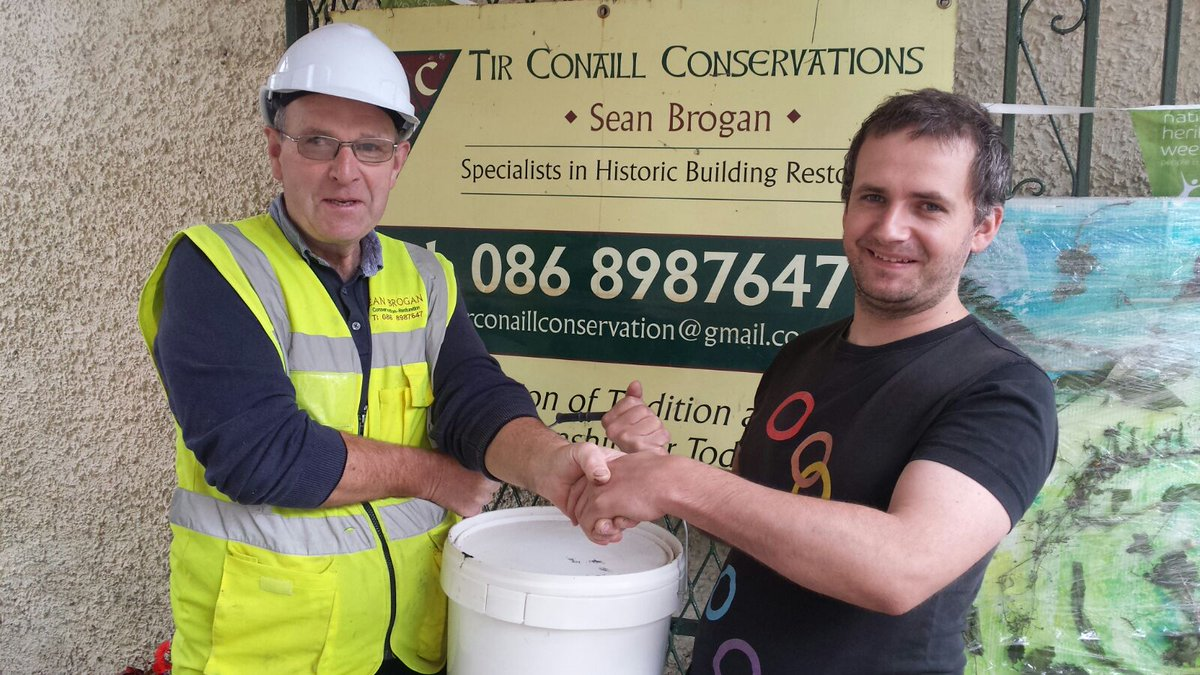 Huge thank you to Tir Conaill Conservation for their sublime donation of quicklime to our #workingparty2017 #thankyou #lime #maintenance <br>http://pic.twitter.com/8whGszlaZp