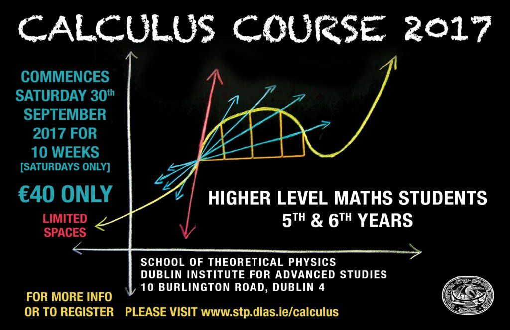 test Twitter Media - Registration for the @StpDias Calculus Course 2017 at #DIASDublin is now open until 25th Sept  https://t.co/ZKjUCiZc4U https://t.co/MRsiZAEfFp
