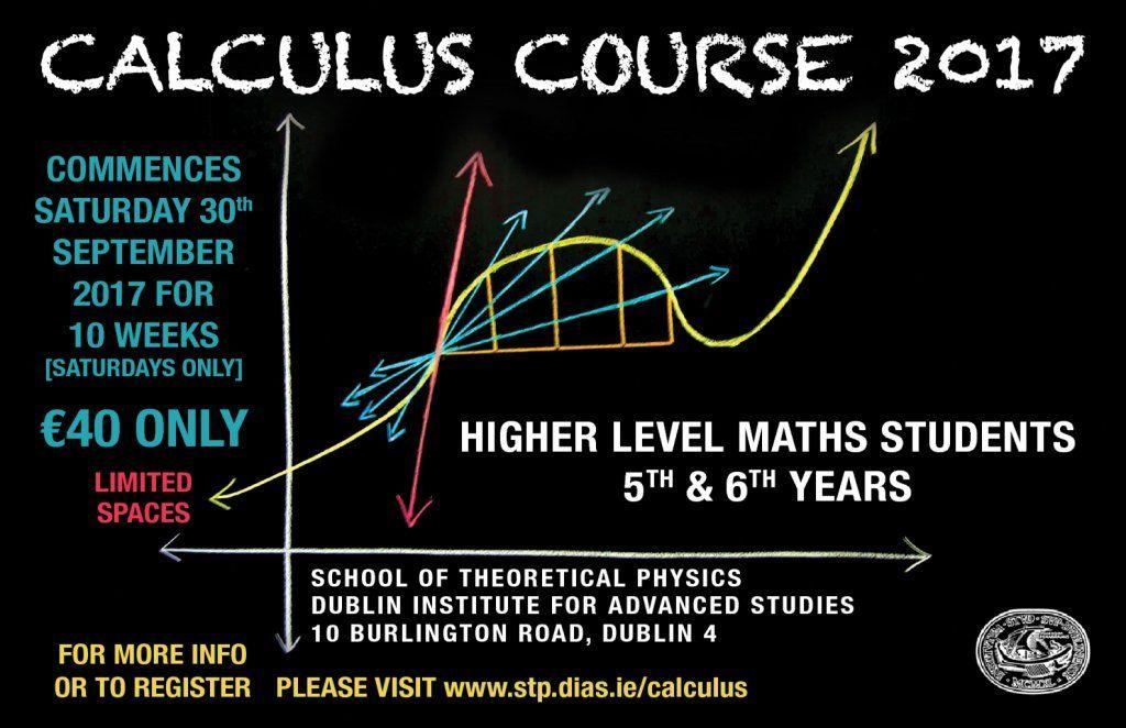 test Twitter Media - Registration for the @StpDias Calculus Course 2017 at #DIASDublin is now open until 25th Sept  https://t.co/ZKjUCiZc4U https://t.co/MRsiZAEfFp
