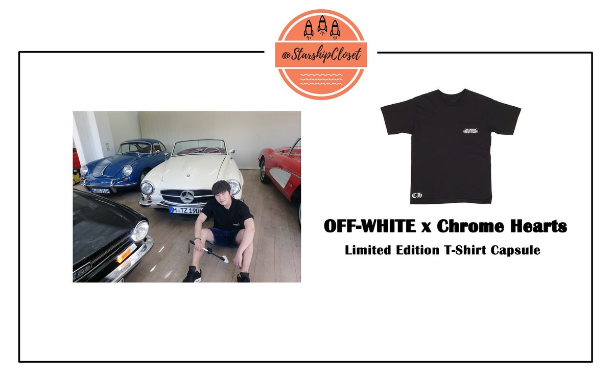 K.WILL(@kwill_twt ) Wearing  OFF-WHITE x Chrome Hearts  - Limited Edition T-Shirt Capsule #Nonfiction  #케이윌 #KwillCloset // K.will Fashion<br>http://pic.twitter.com/Kqz79aKc9v