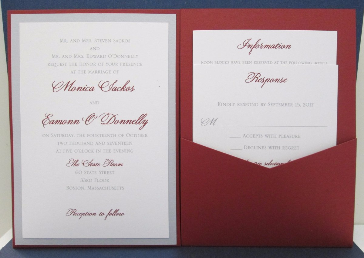 Dorable Mr And Mrs And Family Wedding Invitation Adornment ...