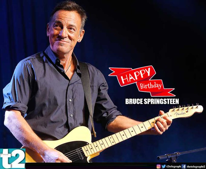 A very happy birthday to Bruce Springsteen!
