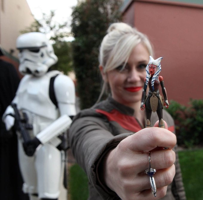 Happy Birthday to Honorary Member Ashley Eckstein ( May The Force Be With You!