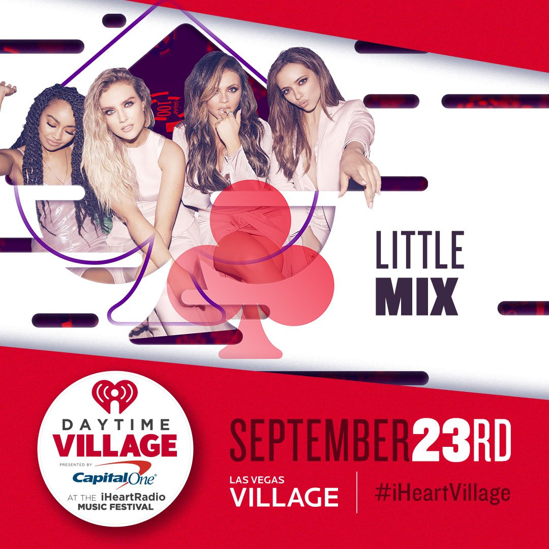 The girls are at the #iHeartVillage this wknd. See them tonight at @Ca...