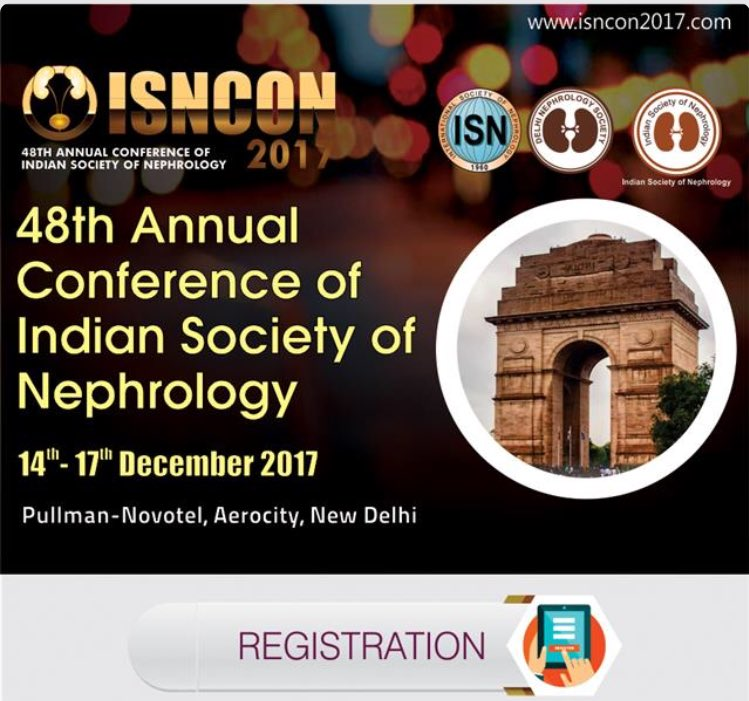 Registration for the #ISNCON 2017 can be done online at this link -  http:// in.eregnow.com/ticketing/regi ster/iscon2017 &nbsp; … <br>http://pic.twitter.com/VjJxCPYQH7