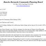 Thank you Rancho Bernardo Community Planning Board for supporting Community Choice Energy!   @Kevin_Faulconer @markkersey