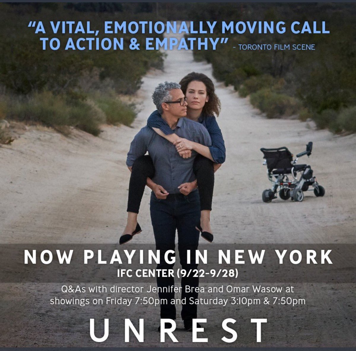 Calling #pinksocks #pharma doctors #researchers in NYC: see FREE screening of @unrestfilm on #mecfs this weekend  http:// unrest.film/nyc-health-out reach &nbsp; … <br>http://pic.twitter.com/EZOalA8K8O