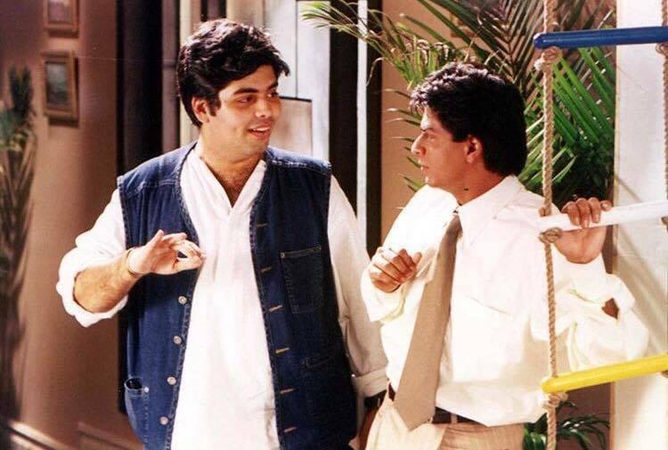Behind the scenes - Kuch Kuch Hota Hai  @karanjohar and @iamsrk https:...