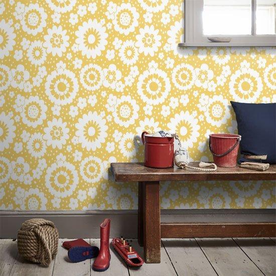 Feeling this retro wallpaper.  #interiordesign #inspiration<br>http://pic.twitter.com/qOw0xgWrQi