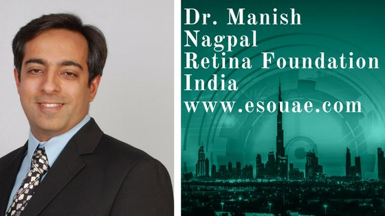 Dr Manish Nagpal, #retina and vitreous session speaker at #ESOUAE. More at -  http:// ow.ly/o0zQ30f9gFg  &nbsp;  . #ophthalmology #eyecare @idrnagpal<br>http://pic.twitter.com/Nq0JwQilAB