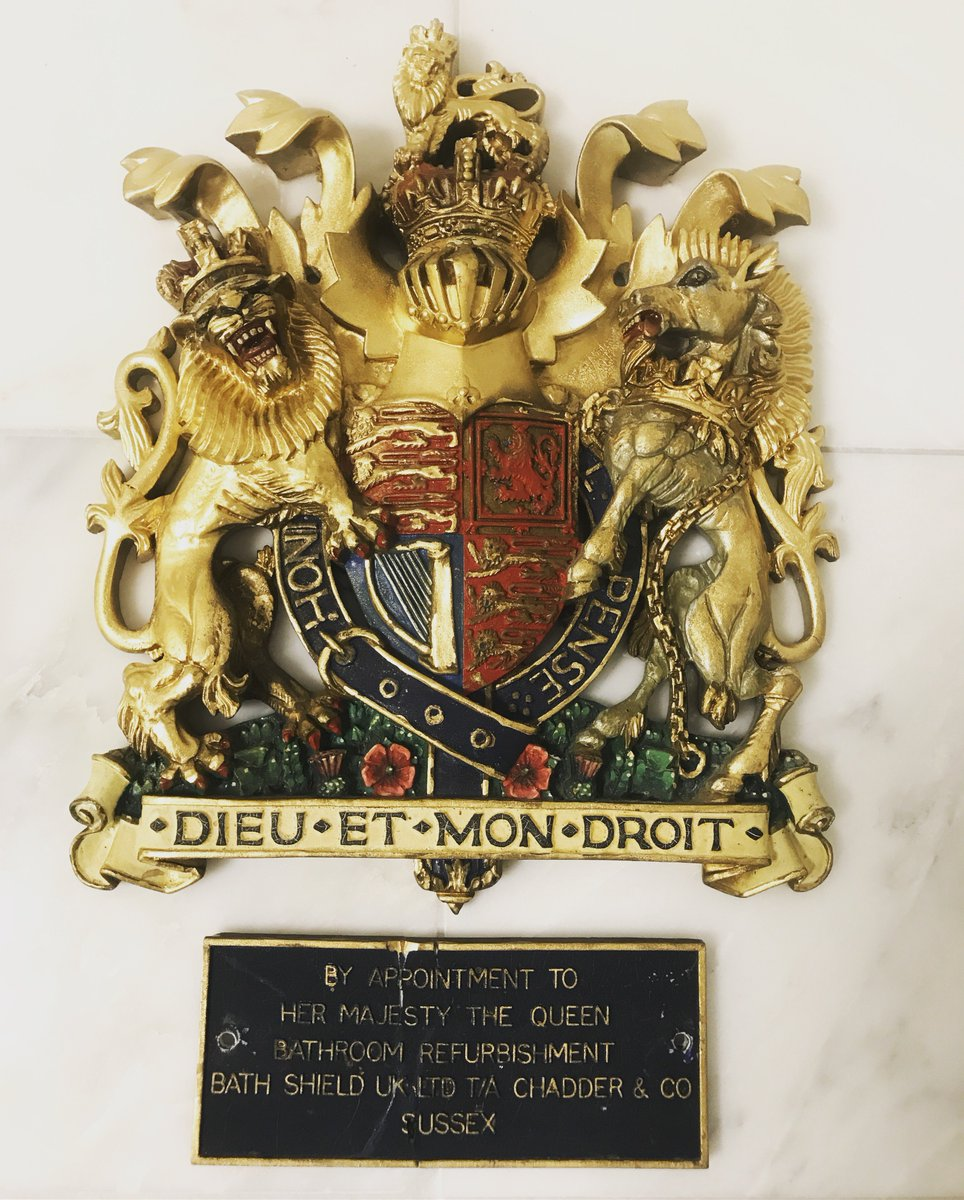 The Royal Warrant by Her Majesty the #Queen. Did you know we have had our Royal Warrant for over 10 years. #royalwarrant #bathroom #interior<br>http://pic.twitter.com/X6OGR7tXbL