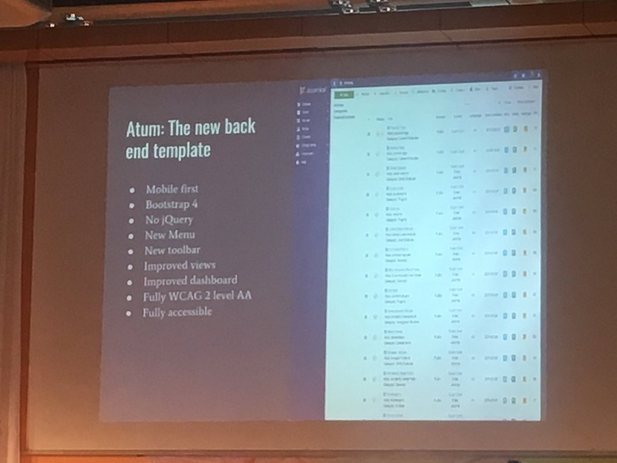 Sander Potjer On Twitter Great List Of Goals For Joomla 4 The