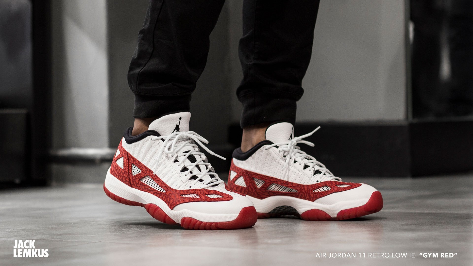03db669eda15 ... free shipping jacklemkus on twitter release reminder air jordan 11  retro low ie gym red drops