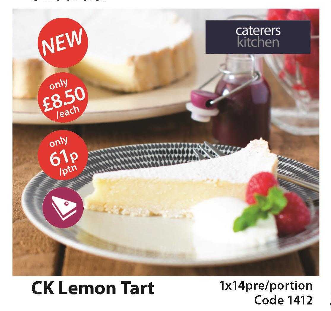 #LemonTart #New #CK Incredible value at only 61ppp why not give it a try this weekend you wont be disappointed #weloveit <br>http://pic.twitter.com/1jdyEhnslg