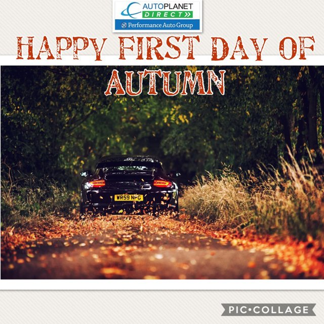 Autoplanet Direct On Twitter Happy First Day Of Autumn