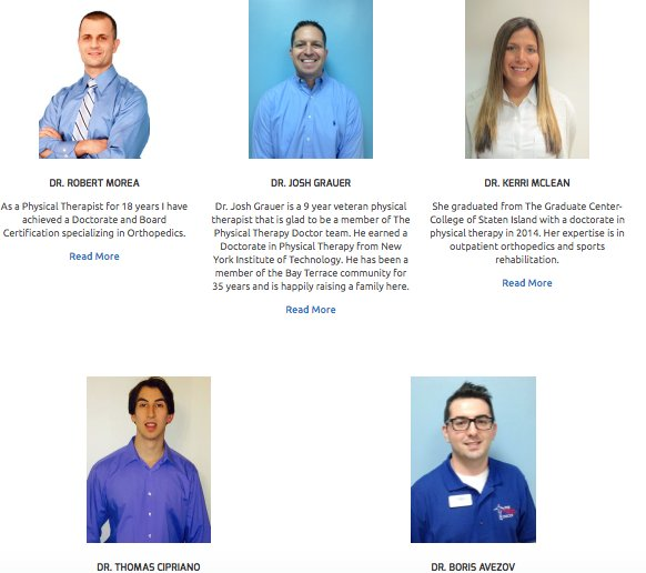 Meet our team !  https:// buff.ly/2jsxOJi  &nbsp;   #patient #testimonial #nyc #strength #training #wellness #health #physical #doctor #therapy #queens<br>http://pic.twitter.com/PWH054oH36