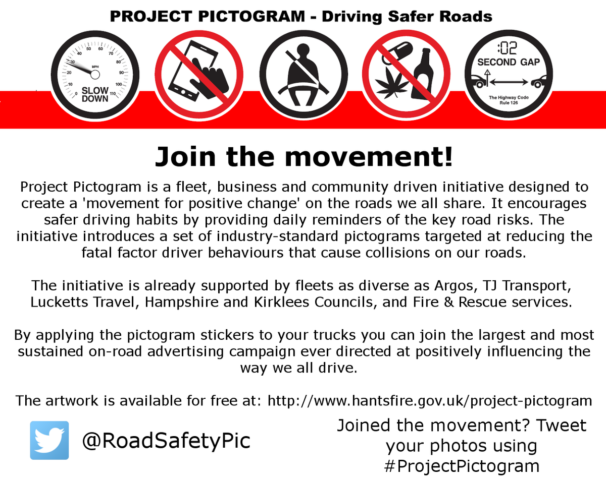 #ProjectPictogram video:  https://www. youtube.com/watch?v=7BRt5C nnpRI &nbsp; …  #RoadSafety #Fleet #Truck #Bus #Coach #Van #CompanyCar #Taxi #ProjectEdward Thank you!<br>http://pic.twitter.com/JnAabnPwQj