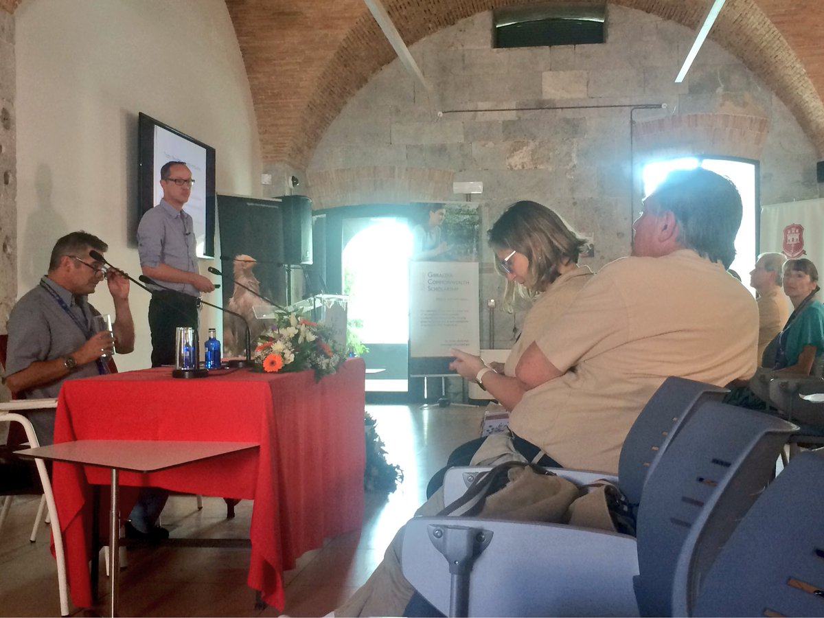 Joris Cromsigt of @_SLU next @ #Calpe17: &#39;#Rewilding Europe with large herbivores: insights from African savanna #ecology&#39; <br>http://pic.twitter.com/36YfgXBbHy