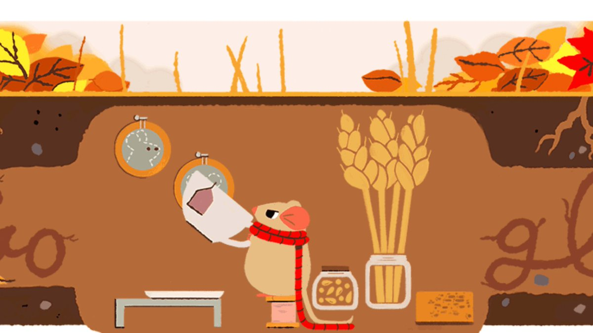 Autumn equinox 2017 Google doodle returns mouse featured the 1st day of spring &amp; summer  http:// dlvr.it/Ppk3qb  &nbsp;   #SearchEngines <br>http://pic.twitter.com/lxUBpB8qmC