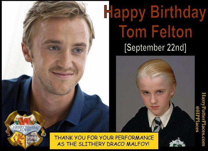Happy Birthday to Tom Felton!