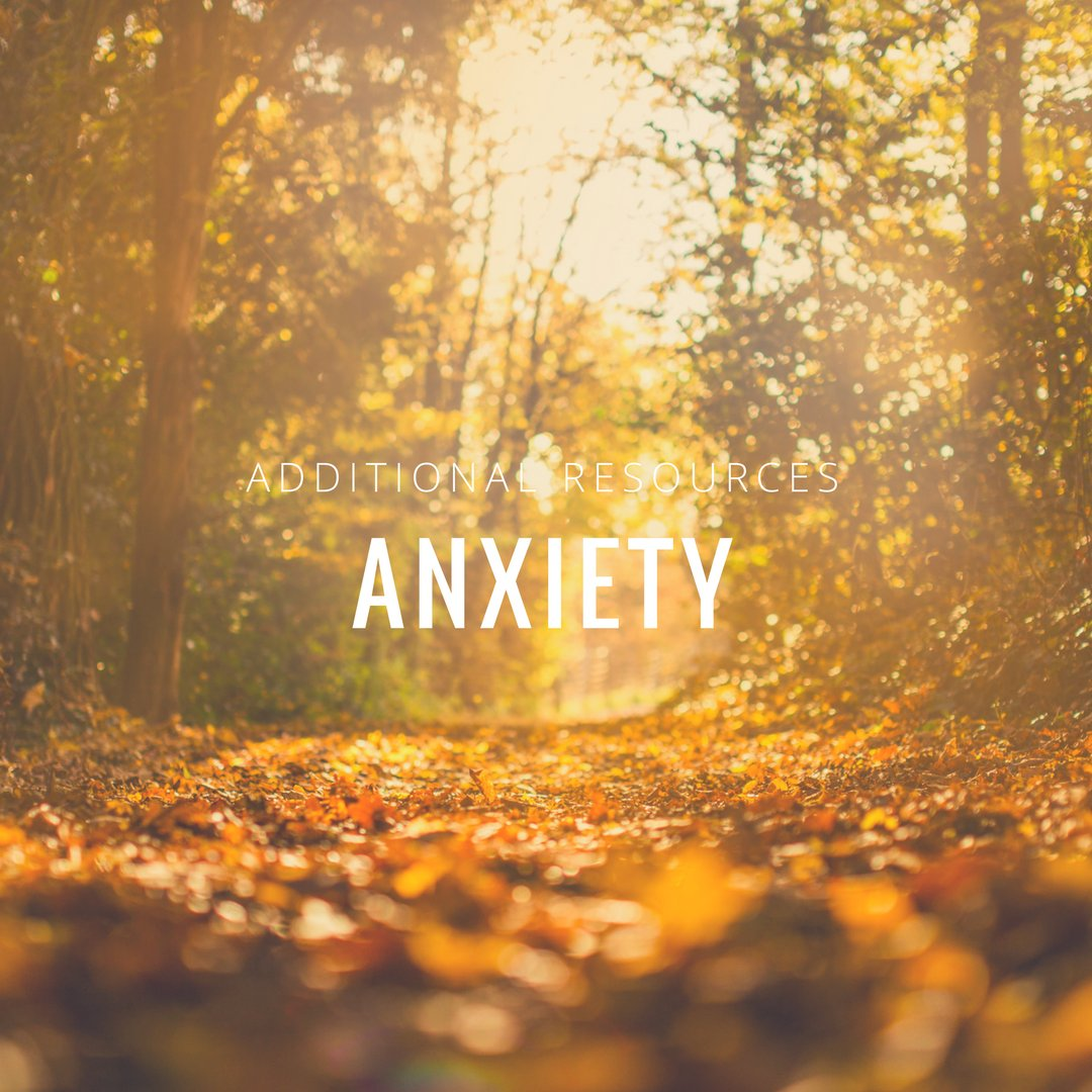 Additional Resources Friday! Check out our recommendations for books, websites and podcasts. #anxiety #resources   https:// buff.ly/2fmSwcl  &nbsp;  <br>http://pic.twitter.com/Wq9AMtPiBU