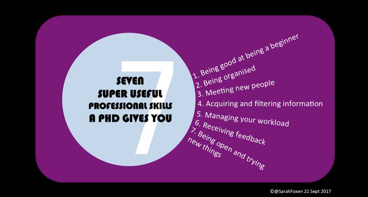 NEW POST!: Seven super useful professional skills a #PhD gives you (which I&#39;m using in my job @POST_UK)  http:// wp.me/p67sLO-uQ  &nbsp;   #phdchat<br>http://pic.twitter.com/i0xQmVubqY