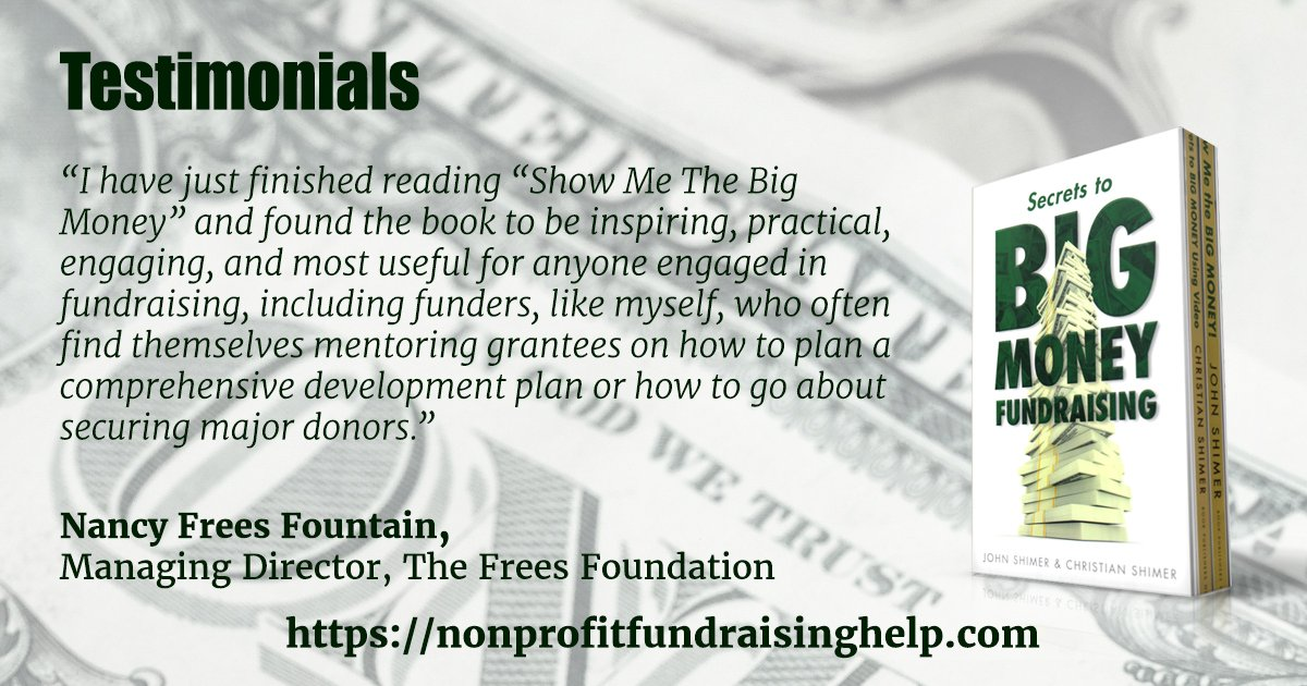 #Fundraising in the Land of the Giants doesn&#39;t have to be hard. Get the secrets to Big Money here:  http:// bit.ly/2gjKl0i  &nbsp;   #book #charity <br>http://pic.twitter.com/Np7TOkkX3F