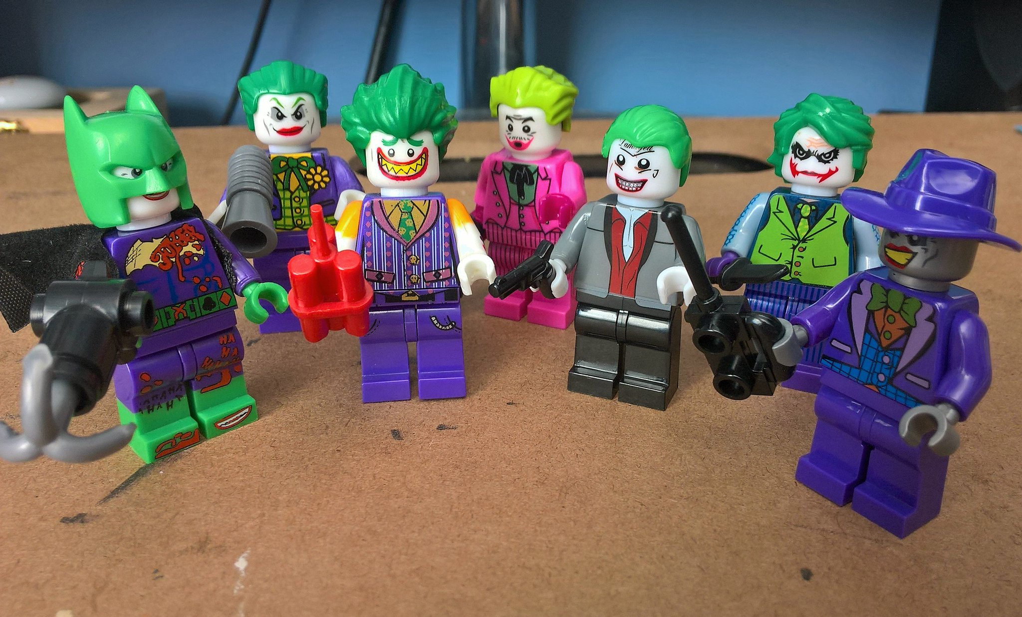 Joker images collection 46 - Lucky Negan On Twitter Sooo I Guess The Joker Lego Collection Is Getting Out Of Hand Idk Do They Make A Jeromevaleska Gotham Joker Yet