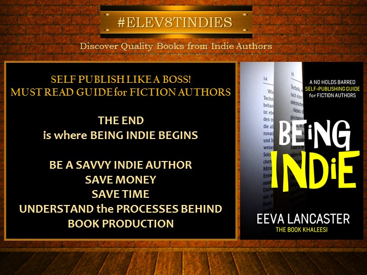 #RT  #ELEV8TINDIES #Mustread A Guide for ALL #Authors. New. Old. In Between.   http:// amzn.to/2uJZdv6  &nbsp;   @eevalancaster   #BookBoost #IARTG<br>http://pic.twitter.com/jCWy3rklvq