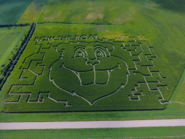 Shout-out to Seth Sprong of #Edgerton, #MN, for his amazing @GoldyGopher and #RTB corn maze design! #UMNproud<br>http://pic.twitter.com/4rZkqNbmI9