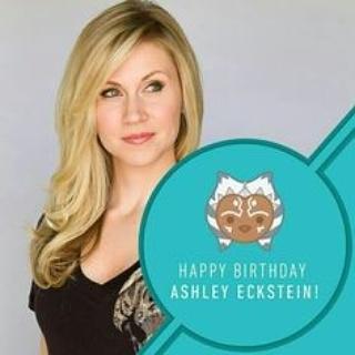 Happy birthday to Ashley Eckstein