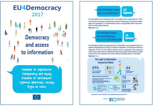 1.  #Democracy without public access to #information? @EUinNigeria roundtable to discuss this and more 26/9 #EU4Democracy<br>http://pic.twitter.com/et0NrzLQnc