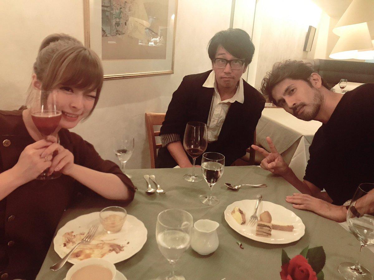 岡村靖幸さんと平井堅さんとご飯してきた