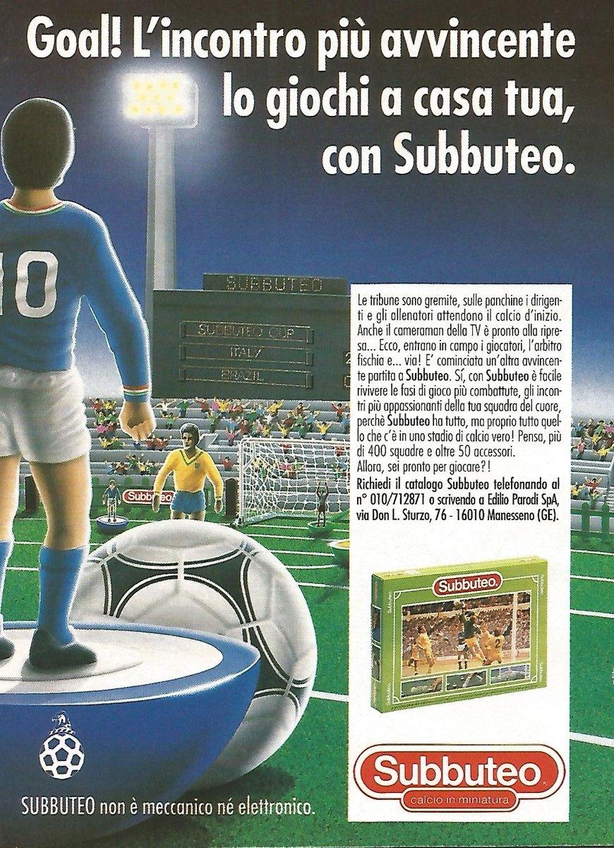 Vintage subbuteo advert 1993