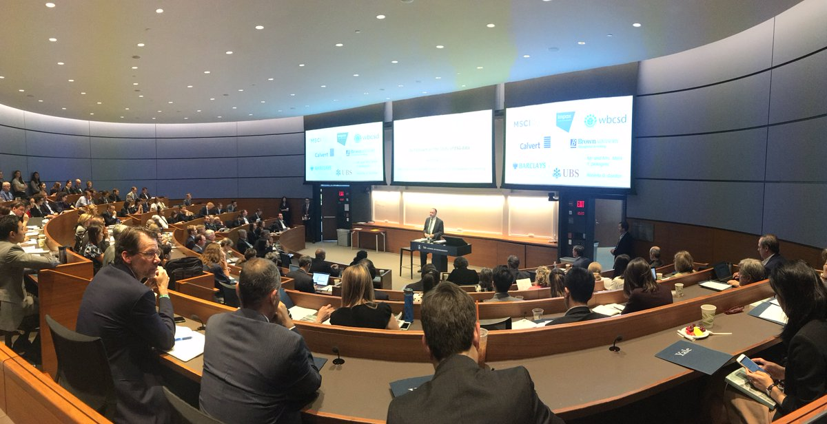 &quot;There&#39;s a difference between data and useful data.&quot; Yale Symposium on the State of ESG Data discusses the need for better #ESG data. #YISF<br>http://pic.twitter.com/e2xD6RI4OL
