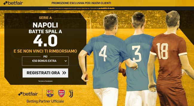bonus betfair.it scommesse