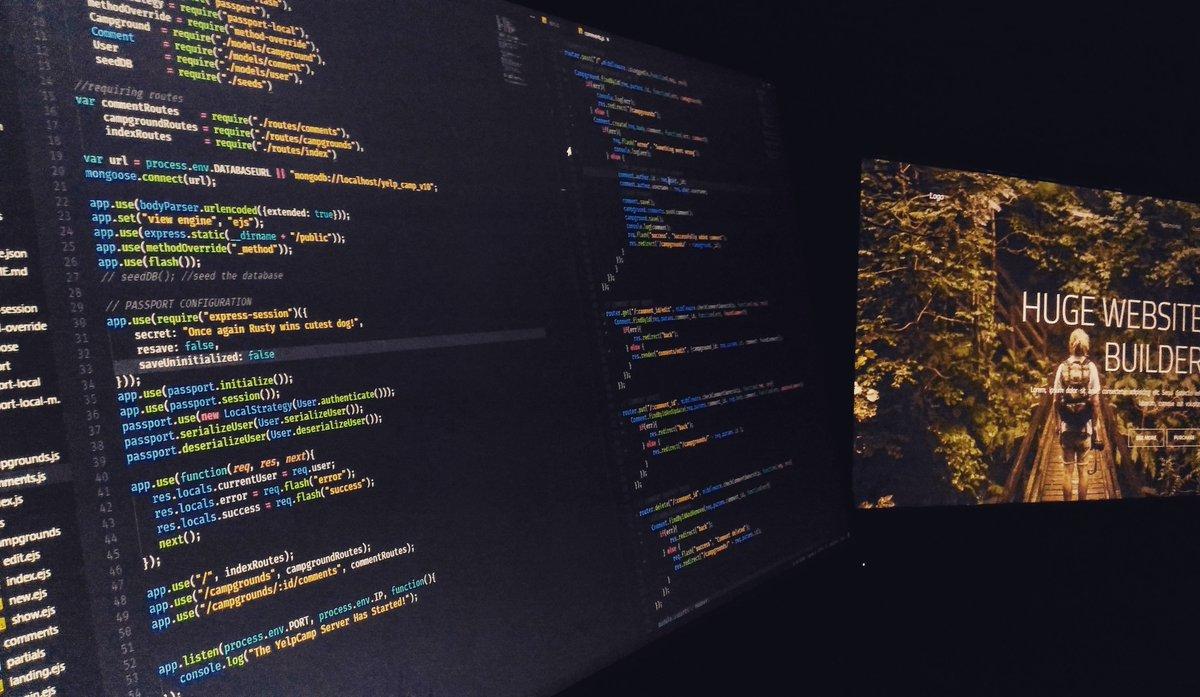 Dual monitors now :) . . . . . . #Code #Programming #programmer #webdesign #webdevelopment #envato #Monitor #Coding #platform #FrontEnd <br>http://pic.twitter.com/CPcyzh8V0j