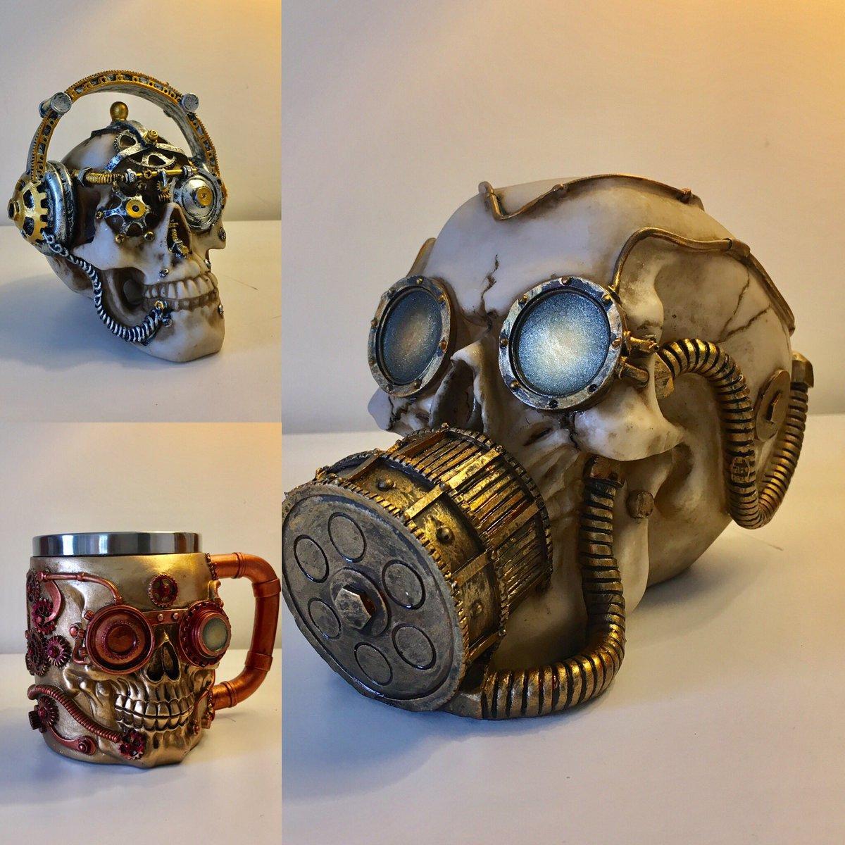 Three more great items @NRMShildon this weekend #Steampunk #design #style #durham #skull #tankard #mrchipsemporium #nacollectables